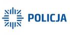 logo policji w kolorze niebieskim